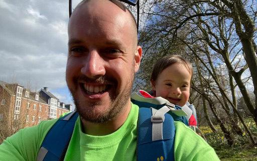 RammSanderson walks a million steps for charity